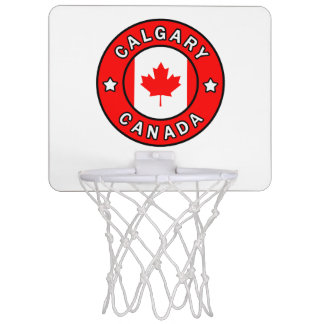 Calgary Canada Mini Basketball Hoop