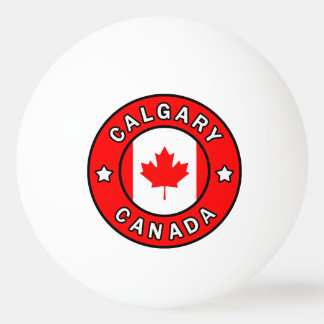 Calgary Canada Ping Pong Ball