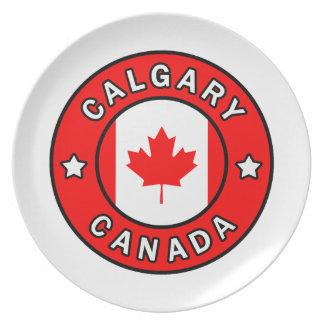Calgary Canada Plate
