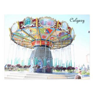 Calgary, Canada Postcard
