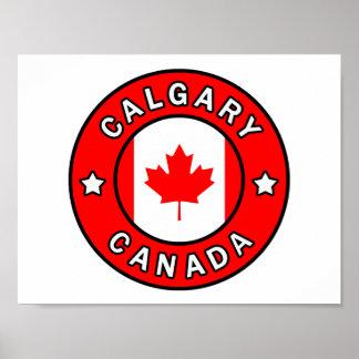 Calgary Canada Poster