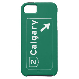 Calgary, Canada Road Sign iPhone 5 Cases