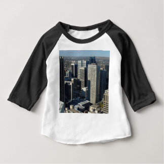 Calgary Canada Skyline Baby T-Shirt