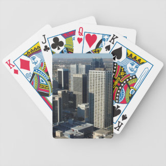 Calgary Canada Skyline Bicycle Playing Cards