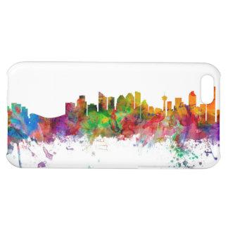 Calgary Canada Skyline Cover For iPhone 5C