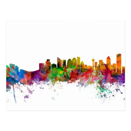 Calgary Canada Skyline Postcard