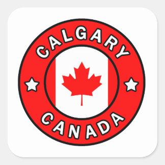Calgary Canada Square Sticker
