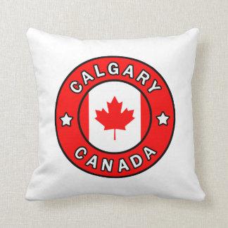 Calgary Canada Throw Pillow