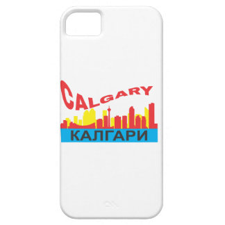 Calgary cyrillic case for the iPhone 5