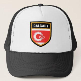 Calgary Flag Trucker Hat