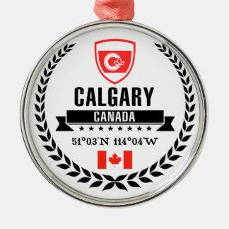 Calgary Metal Ornament