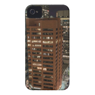 Calgary Night Skyline iPhone 4 Cases
