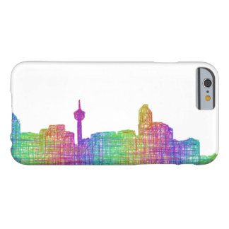 Calgary skyline barely there iPhone 6 case