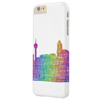 Calgary skyline barely there iPhone 6 plus case