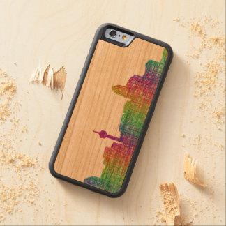 Calgary skyline cherry iPhone 6 bumper case