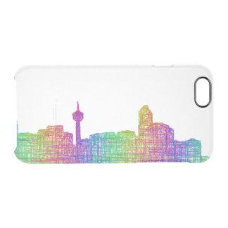 Calgary skyline clear iPhone 6/6S case