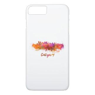 Calgary skyline in watercolor iPhone 7 plus case