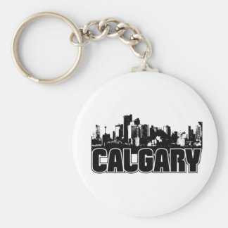 Calgary Skyline Keychain