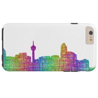 Calgary skyline tough iPhone 6 plus case