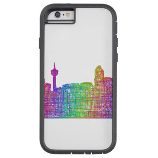 Calgary skyline tough xtreme iPhone 6 case