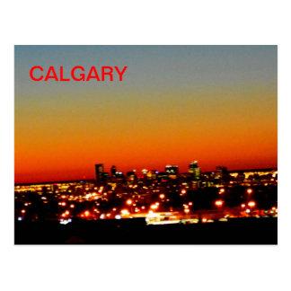 Calgary Sunrise Postcard