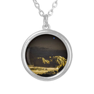 Calheta's Coast Silver Plated Necklace
