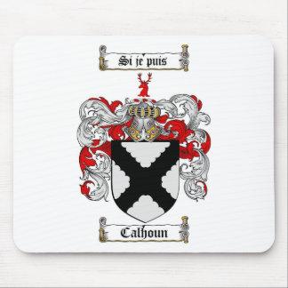 CALHOUN FAMILY CREST -  CALHOUN COAT OF ARMS MOUSE PAD