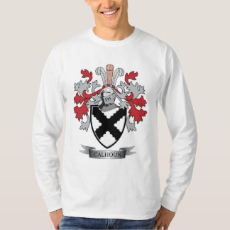 Calhoun Family Crest Coat of Arms T-Shirt