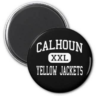 Calhoun - Yellow Jackets - High - Calhoun Georgia Magnet