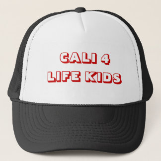 CALI 4 LIFE KIDS TRUCKER HAT