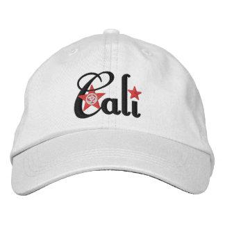 Cali Adjustable Embroidered Hat