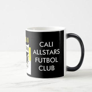 CALI ALLSTARS FC Black/White 11 oz Morphing Mug