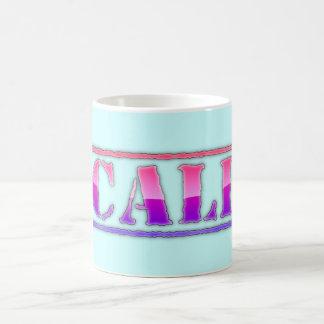 Cali California Classic White Mug