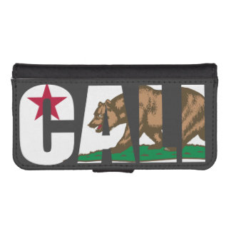 Cali California Flag iPhone SE/5/5s Wallet Case
