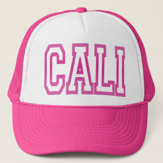 CALI California Trucker Hat (pink)