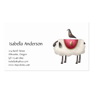 Cali Crows · Crow Sheep Business Card