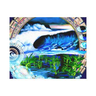 Cali Dusk limited edition Canvas Print