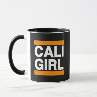 Cali Girl Orange Mug