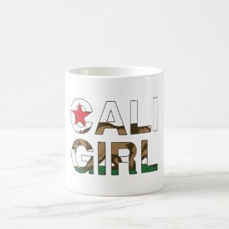 Cali Girl Rep Clear Coffee Mug