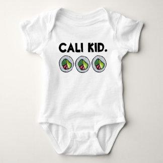 Cali Kid Japanese Food California Sushi Roll Baby Bodysuit