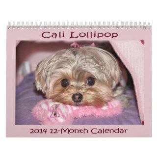 Cali Lollipop 2014 12-Month Calendar
