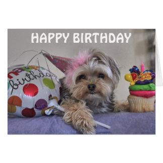 Cali Lollipop Happy Birthday Blank Note Card