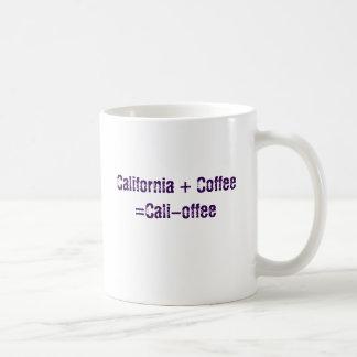cali-offee coffee mug