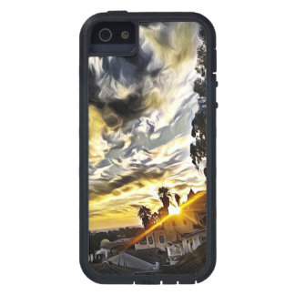 Cali Sunset 2 iPhone 5 Cases