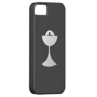 Calice et centre serveur argentés coque iPhone 5