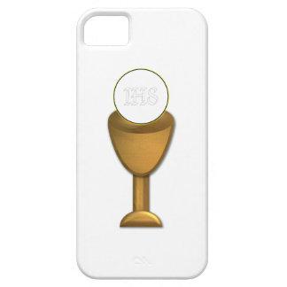 Calice et centre serveur d'or - sainte communion étuis iPhone 5