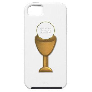 Calice et centre serveur d'or - sainte communion iPhone 5 case