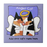 Calico Cat Angel Personalize Tiles