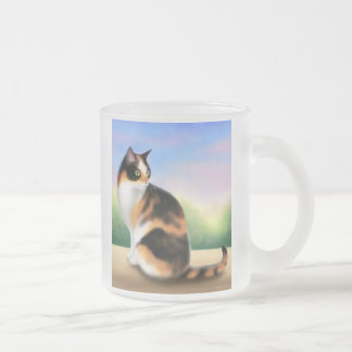 Calico Cat at Sunset Coffee Mug