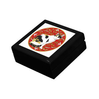 Calico Cat Baroque Gift Box